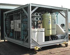 移动式海水淡化处理装置