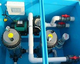 泳池废水处理装置