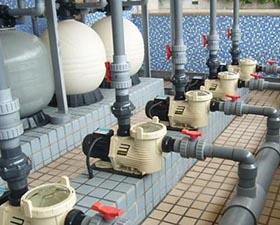 泳池循环废水处理装置