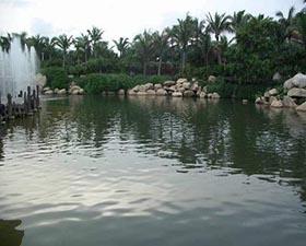 京弘川景观水处理