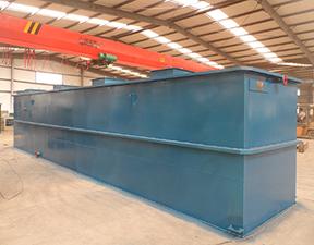 Buried hospital sewage treatment equipment