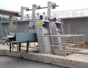 Wastewater treatment of mechanical processing in jinghongchuan