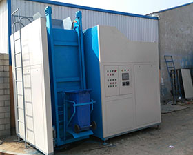 Wet waste treatment process